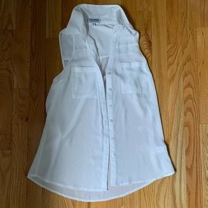 Express Business Casual Collared Tank